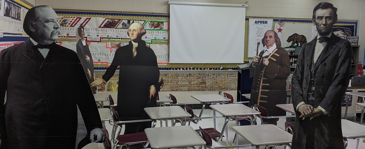 United States History classroom
