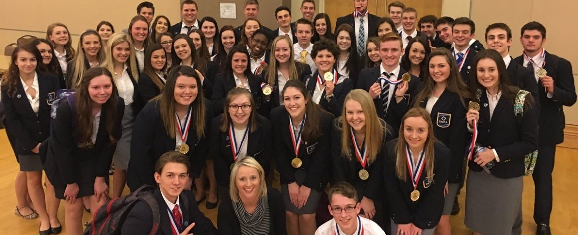 DECA State Awards!